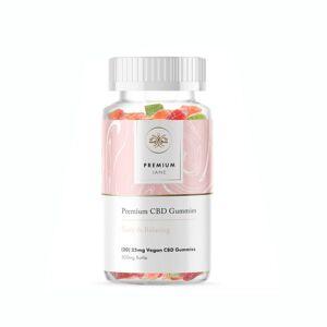 Premium Jane CBD Gummies 500mg 20 Count