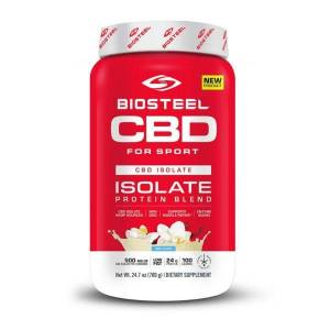 BioSteel CBD Isolate Protein Powder Vanilla 500mg