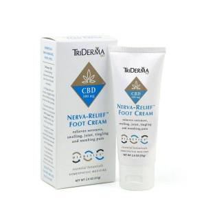 TriDerma MD® CBD Nerva-Relief™ Foot Cream - Diabetics 500mg