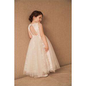 Princess Jessie Dress  Ivory,Blush -female size:4