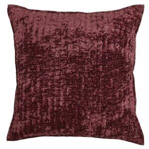 Kosas Home Maison Velvet 20-inch Throw Pillow (Port)