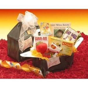 Gift Basket Drop Shipping RX to Say Get Well Care Package (Coffee & Tea - Foodie - Grandfather - Get Well)