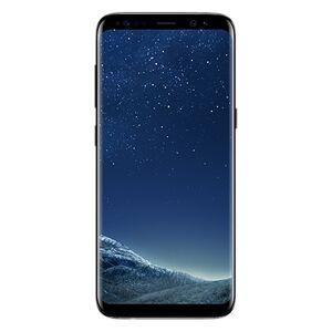 "Samsung Galaxy S8 SM-G950U 64 GB Smartphone - 5.8"" QHD+ - 4 GB RAM - Android 7.0 Nougat - 4G - Midnight Black"