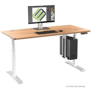 Eureka Ergonomic® E60 Height Adjustable Electric Standing Desk - 60 Inch (Ivory)