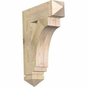 """Overstock Imperial Arts & Crafts Rough Sawn Bracket, Douglas Fir (6""""W x 24""""D x 32""""H)"""