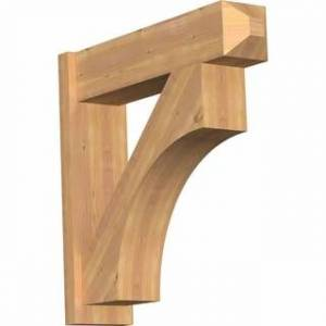 "Overstock Westlake Smooth Craftsman Outlooker, Western Red Cedar (7 1/2""W x 30""D x 30""H)"
