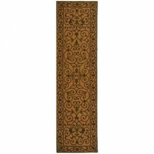 "Safavieh Hand-hooked Chelsea Cherrelle Country Oriental Wool Rug (2'6"" x 4' - Yellow/Light Green)"