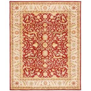 "Safavieh Handmade Antiquity Izora Traditional Oriental Wool Rug (Rust - 8'3"" x 11')"