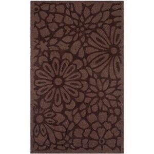 Martha Stewart by Safavieh Handmade Full Bloom Wool Rug (8' x 10' - Tilled Soil)