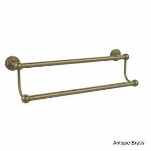 Allied Brass Waverly Place Collection 30-inch Double Towel Bar (Antique/Brass Finish)