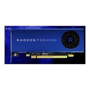 AMD Video Card 100-505999 Radeon Pro WX 3100 4GB GDDR5 10Bit PCI Express 2 x Mini-DisplayPort /DisplayPort Retail