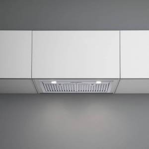 """Falmec Danilo Professional Style Insert 28"""" 1000cfm, Stainless steel baffle filters with 2 independent 3 speed"""
