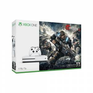 Microsoft Xbox One S 1TB Console - Gears of War 4 Edition