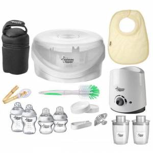 Tommee Tippee Closer To Nature Complete Starter Set (Bottle Feeding Set)