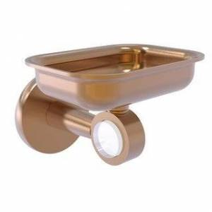 Allied Brass Clearview Collection Wall Mounted Soap Dish Holder (Brushed Bronze)