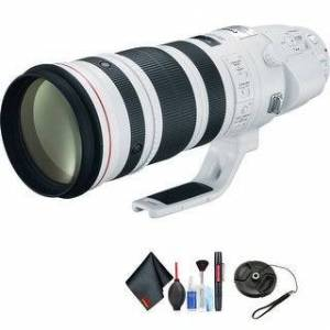 Canon EF 200-400mm f/4L is USM Extender 1.4X Lens for Canon EF Mount + Accessori (Black)