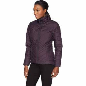 The North Face Mossbud Reversible Jacket, Galaxy Purple & Weathered Black, M