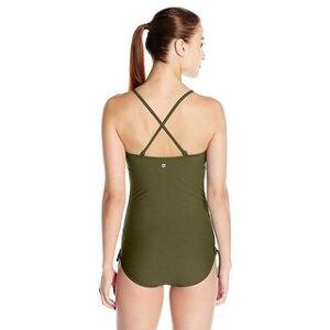 prAna Women's Moorea Onepiece Dress, Cargo Green, Large, Cargo Green, Size Large