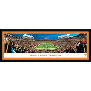 Blakeway Worldwide Panoramas Blakeway Panoramas Tennessee Football Framed Print (Select Frame With Single Mat)
