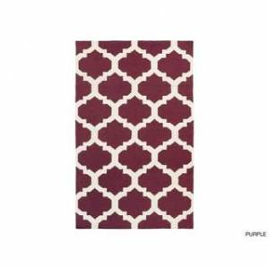Surya Carpet Hand-Woven Esme Moroccan Trellis Reversible Flatweave Wool Rug (4' x 6') - 4' x 6' (Blue)