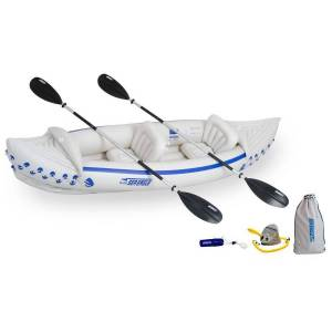Eagle Sea Eagle 330 Inflatable Kayak with Deluxe Package