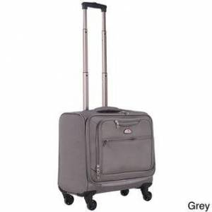 American Flyer South West Carry On Professional Business Spinner Laptop Case (Grey)