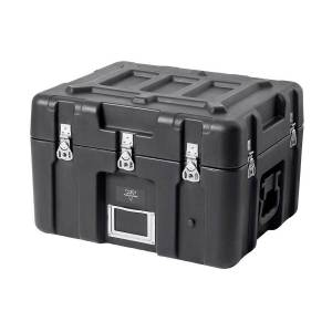 Monoprice Rotomodeled Weatherproof Case - Black (21 x 17 x 15 inches) Stackable with Customizable Foam - Pure Outdoor Collection