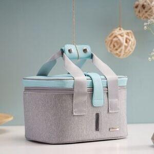 BarberPub UV Bag, LED Travel Bag Portable Rechargeable TG27 (Blue&Grey)
