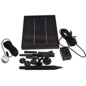 ASC 3 Watt Solar Water Pump with Battery and LED Light (3 Watt Solar Water Pump)