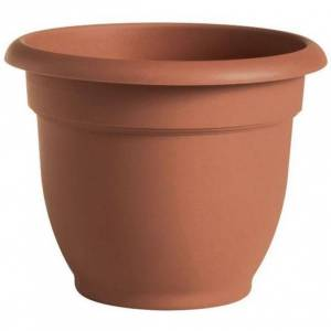 """Bloem Ariana 20-inch Planter with Self Watering Grid (Ariana Planter , 20"""", Tequila Sunrise)"""