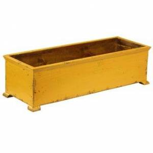 Antique French Planter with arched Legs (Gold)