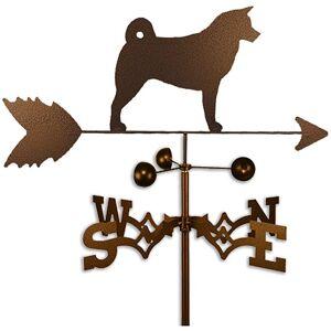 SWEN Products Akita Dog Weathervane (Side Mount)