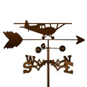 SWEN Products Handmade Taildragger Airplane Plane Weathervane (Roof Mount)