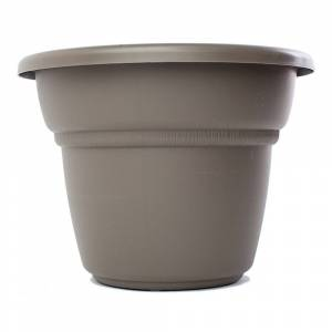 Bloem Milano Peppercorn Planter (24in is 23.75 inches in diameter x 18 inches high)