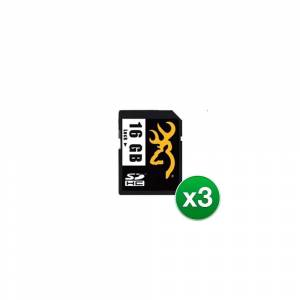 Browning SD Card  16 GB (3-Pack) SD card