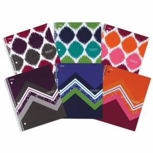 """MeadWestvaco 06348 11"""" X 8.5"""" College Ruled Notebook Assorted Colors (Notebook 11x8.5""""100c)"""