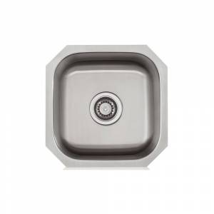 Apogee Stainless Steel 16X16 inch Bar Sink - Stainless Steel - 16 x 16 (16X16)