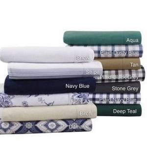 Tribeca Living Flannel 200-GSM Solid or Printed Extra Deep Pocket Sheet Set (Extra Deep Pocket/Deep Pocket - Traditional/Modern & Contemporary - Navy Blue - 4 Piece