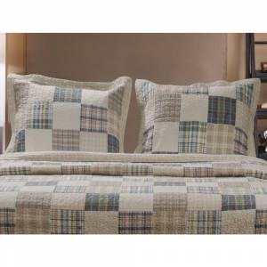 Greenland Home Fashions  Oxford Pillow Shams, set of two (2) (Standard)