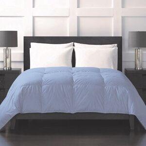 Sharper Image Down Alternative Lightweight Comforter (Twin - Blue)