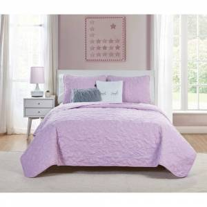 VCNY Home Happy Dreamer Quilt Set (Twin - 4 Piece)