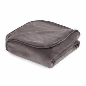"Vellux The Vellux Heavy Weight 12 - 25 lb. Weighted Blanket or Throw (54 x 72""-20 lbs - Charcoal Grey)"