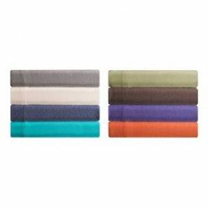 Imported Brooklyn Flat Jersey Knit Bed Sheet Set (Blue - 4 Piece - Full)