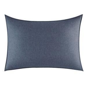 Vera Wang Melange Gauze Standard Sham (Blue - Solid Color)