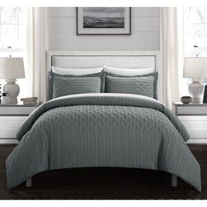 Chic Home Jas 7 Piece Vine Pattern Bed in a Bag Comforter Set (Queen)