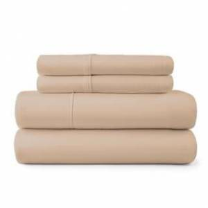 Porch & Den Maureen 600 Thread Count Bed Sheet Set (Brown - King)