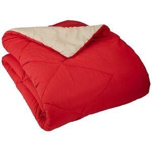 Vinyl Boutique Shop Reversible Microfiber Comforter Blanket (Red - King)