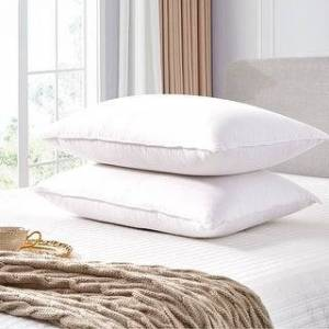 Scott LIVING White Goose Feather and Down Fiber Pillow (Set of 2) (King)