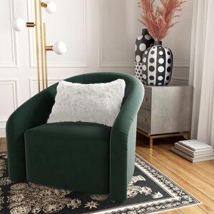 TOV Furniture White Tibetan Sheep Long Throw Pillow (White)