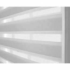 Achim Cordless Celestial Sheer Double Layered Shade (White - 48x72)